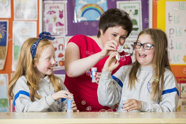Sarah O'Connor World Asthma Day Schools event