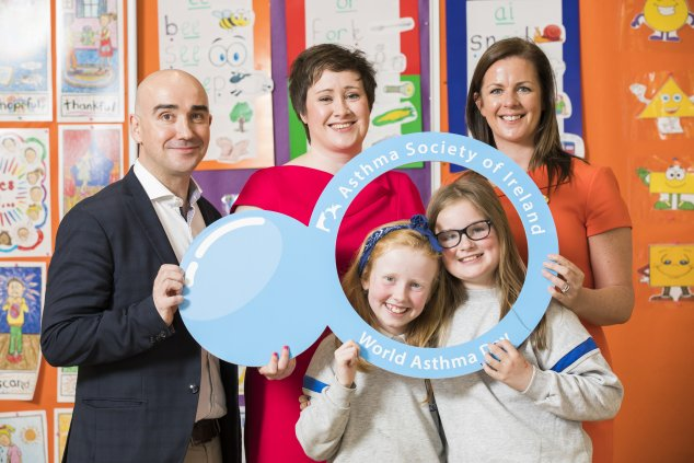 Schools visit world asthma day