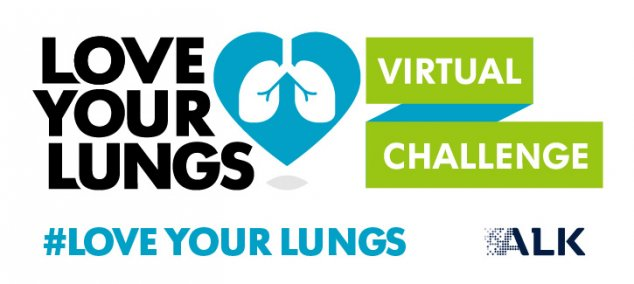Love your lungs virtual challenge for asthma awareness week 1 to 8 May