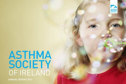 Cover Image of Asthma Society of Ireland Annual Report 2014