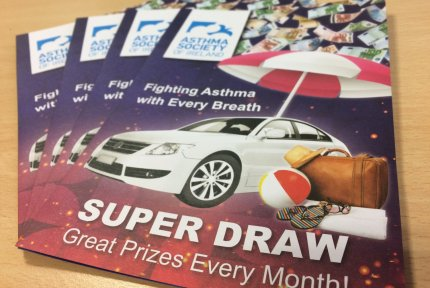 Private Member Draw application forms to be filled to win great prizes