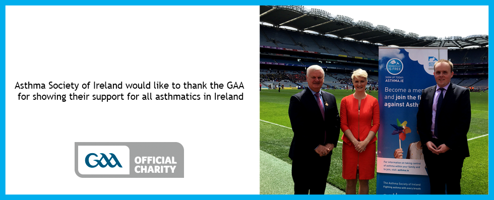 ASI CEO, Averil Power with GAA President, Aogán Ó Fearghaíl and ASI Comms Manager at Croke Park
