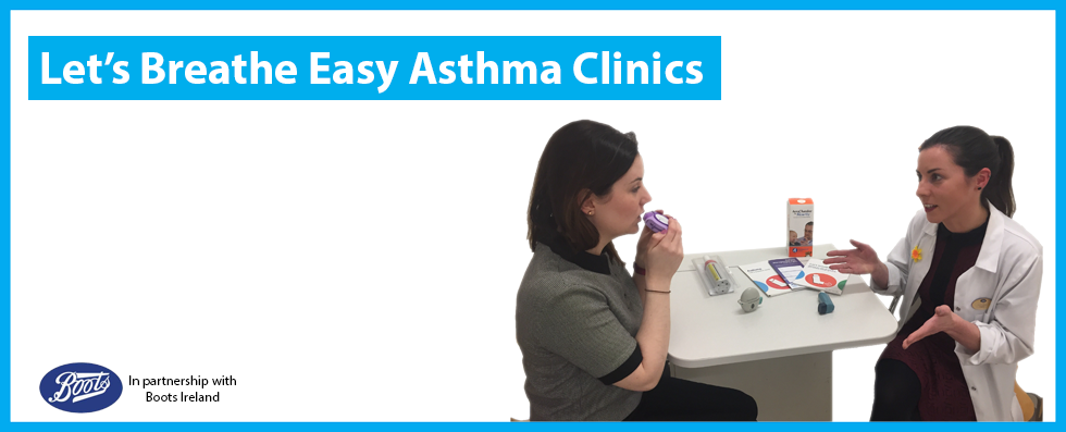 Boots Let's Breathe Easy Asthma Clinics