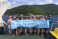 The Overseas Walk 2014 Group of Fundraisers