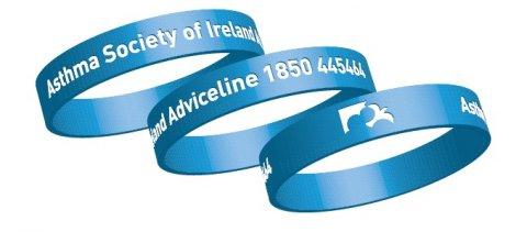 Asthma Society of Ireland Wristbands