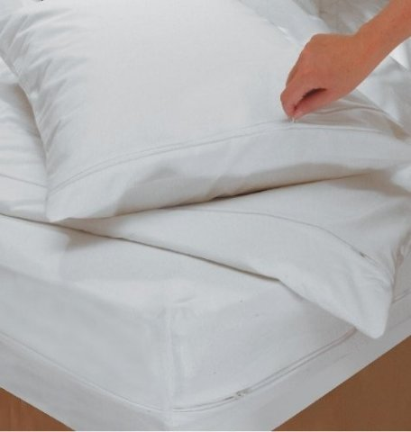 Allerjeeze Bedding Covers Are Soft And Light, Silky And Silent And Can Be  Barely Felt Under Your Normal Bed Sheets.