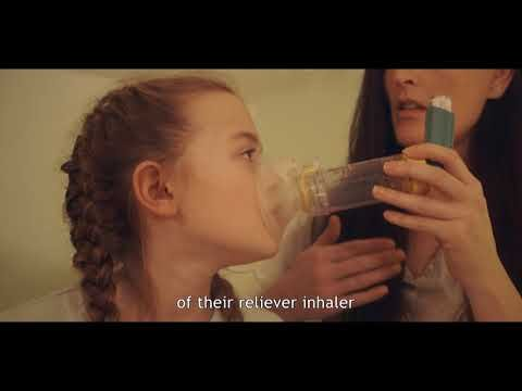 What to do in an Asthma Attack - Child under 6 version