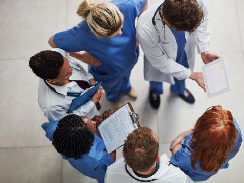 Group of Doctors consulting together