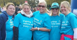 Doris Przbylak and her girlfriends in Limerick Mini Marathon 2015