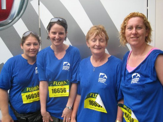 Asthma Society Women's Mini Marathon fundraising