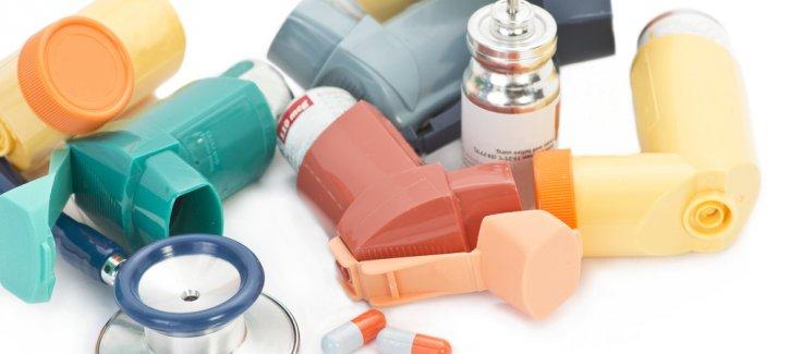 Asthma controller inhalers