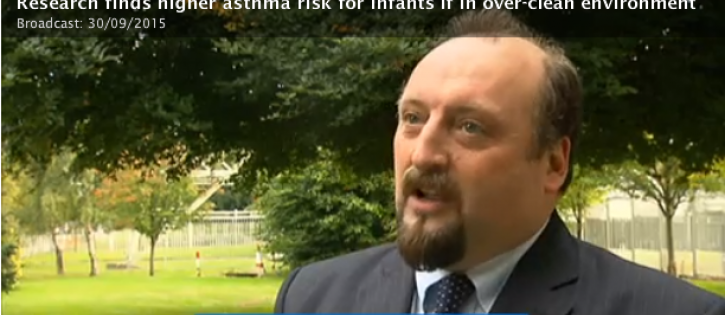 John Holohan of the Asthma Society of Ireland comments on the research findings