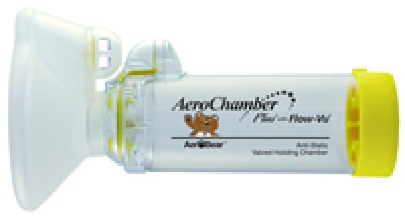 how to use inhaler with aerochamber